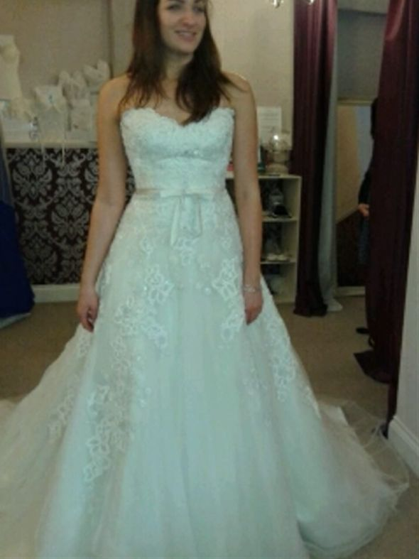 Dress dilemmas! Sophia Tolli or Kathy Ireland?! Please help!