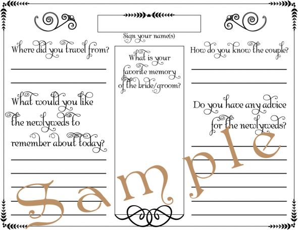 Fun Alternatives for a GUESTBOOK wedding guest book guestbook guestbook