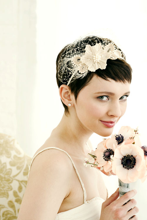 Short Hairstyles for Brides…PIC HEAVY