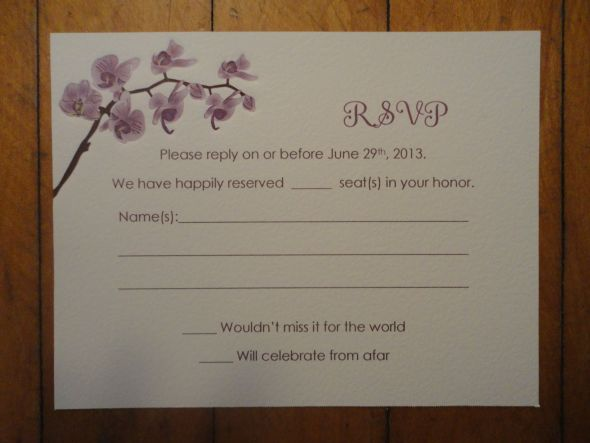 How do you make sure guests don 39 t rsvp extra people for What dies rsvp stand for