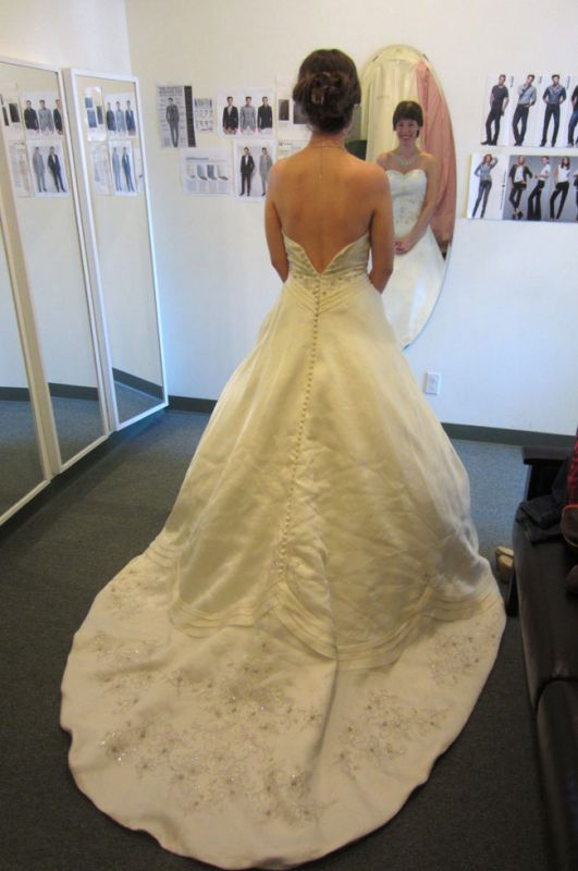 New dresses at the limited store chicago for Wedding dress resale shop