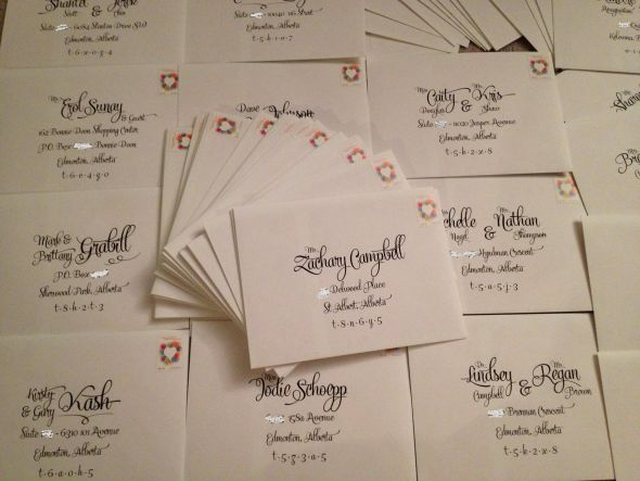 My Invitations Are Sent!!!