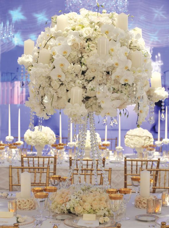 White And Champagne Wedding Theme Gallery - Wedding Decoration Ideas