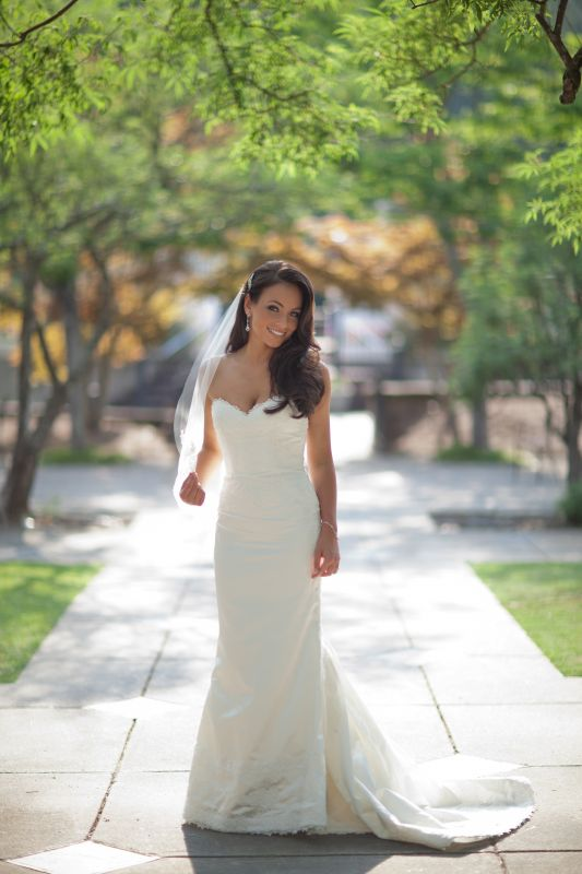 My bridal shoot :) :  wedding bridal bride dress hair priscilla of boston wedding dress Wedding Dress