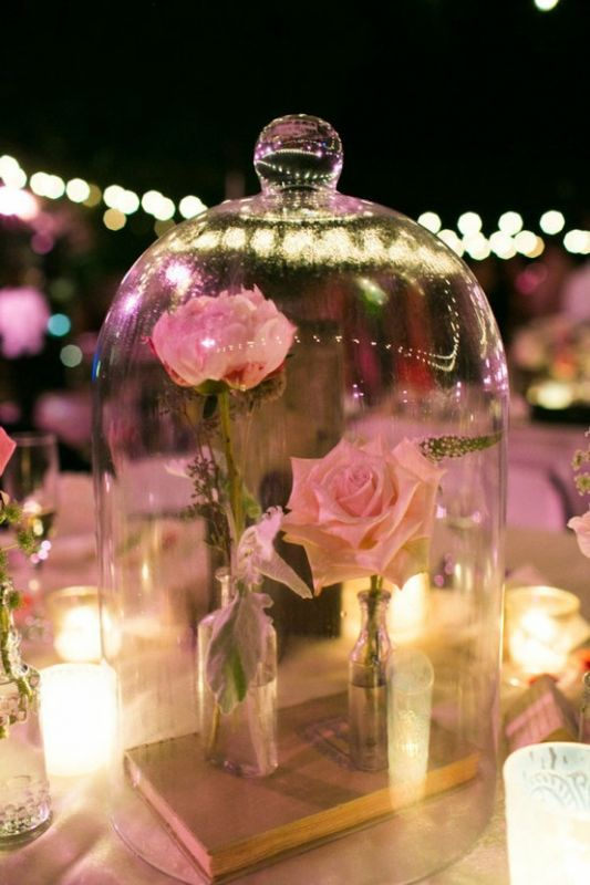 Beauty and the Beast Inspired Centerpiece(pic)