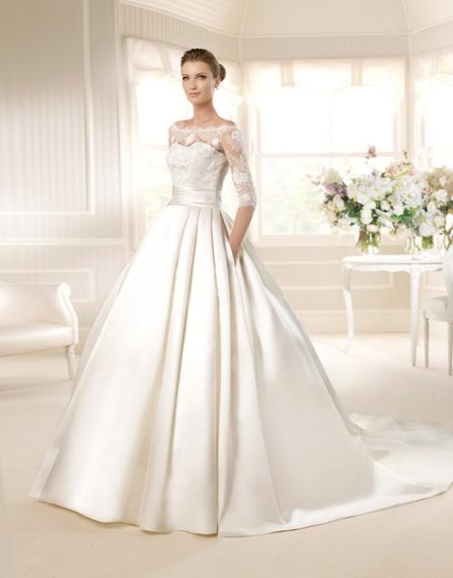 La Sposa brand wedding gowns