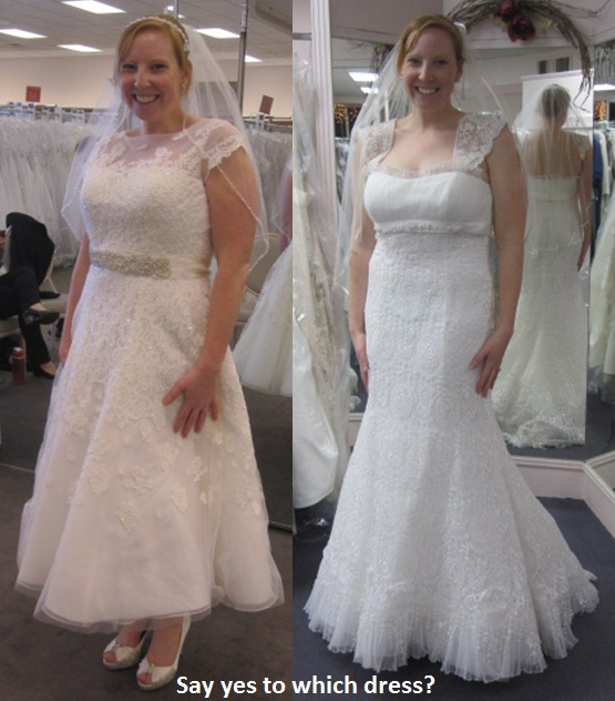 Say yes to which dress?