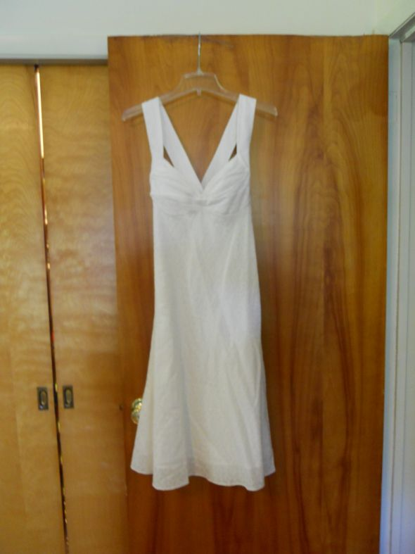 White sundress : wedding 2011