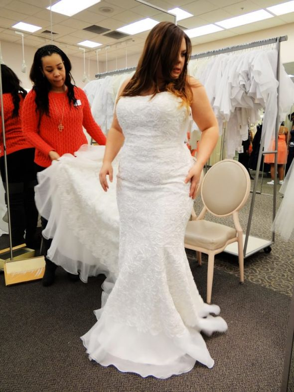 Being Curvy, Short, a tad plus sized, and wedding dress shopping