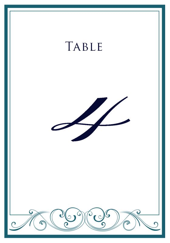 Show Me Your Table Numbers Weddingbee