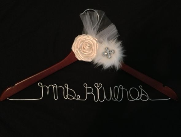 DIY personalized hangers