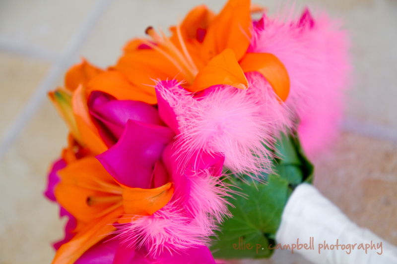 Wedding bouquets pink and orange : Pink and orange wedding colors weddingbee