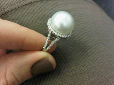 Should You Consider a Pearl Engagement Ring?