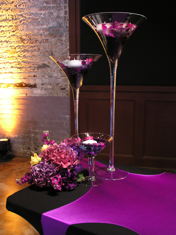 Has anyone used these for their centerpieces wedding centerpiece glass