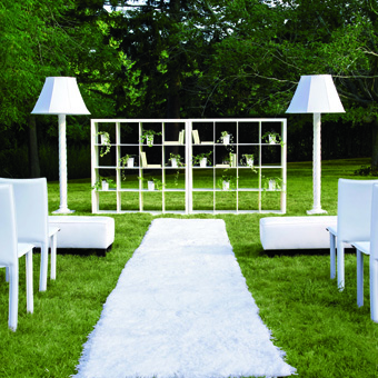 Wedding altar decoration ideas romantic decoration for Altar decoration wedding