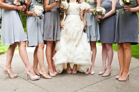Bridesmaids Shoe Color