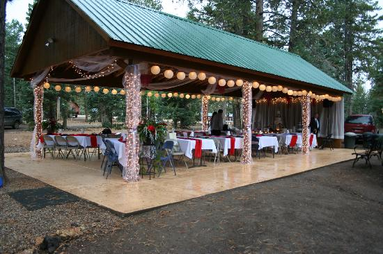 Pavilion Wedding Decorating Ideas