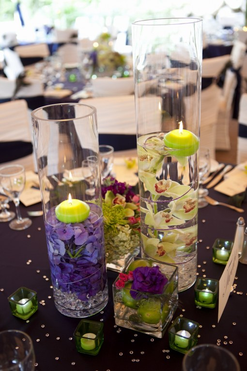 i need help with centerpiece ideas wedding Purple