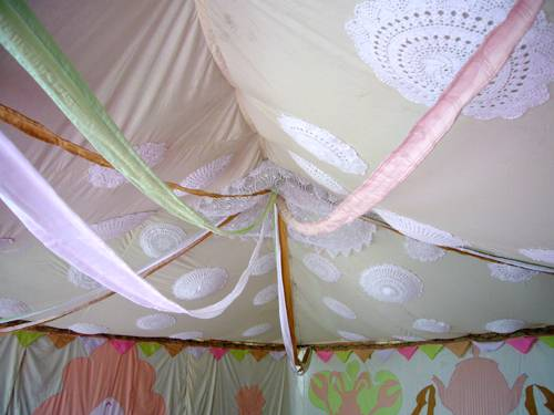 Wedding Tent Decorations