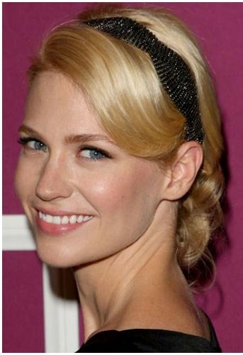 For anyone wearing a headband wedding hair updo Bridal Hairstyles Picture