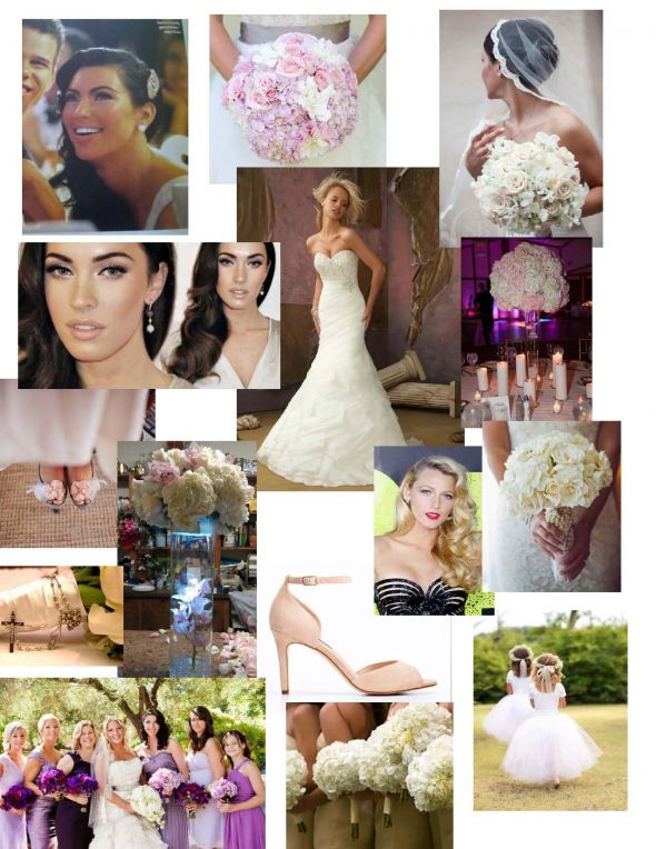 Wedding vision board