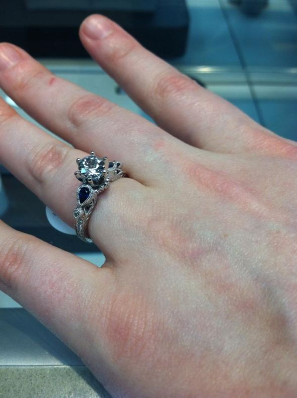Husband Not Excited About Rings Weddingbee
