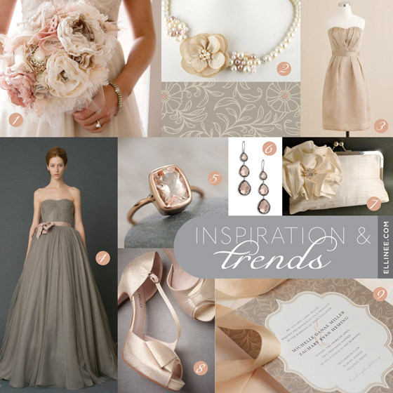 Blush-Champagne-Gold Dresses POST HERE! - Weddingbee