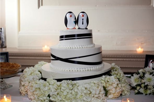DIY Success!!! Penguin Cake Toppers (with pictures)