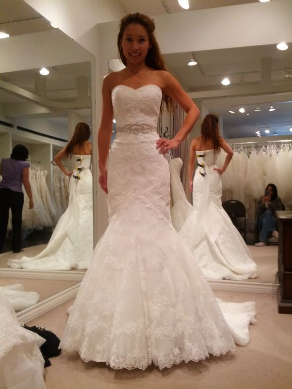 Sweetheart La Sposa Mullet Alterations – Help!
