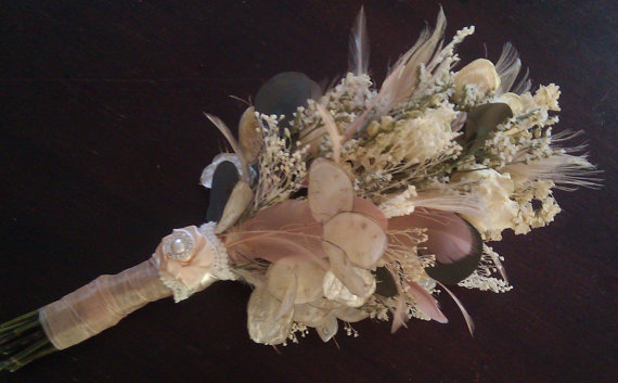 dried flowers for autumn wedding weddingbee