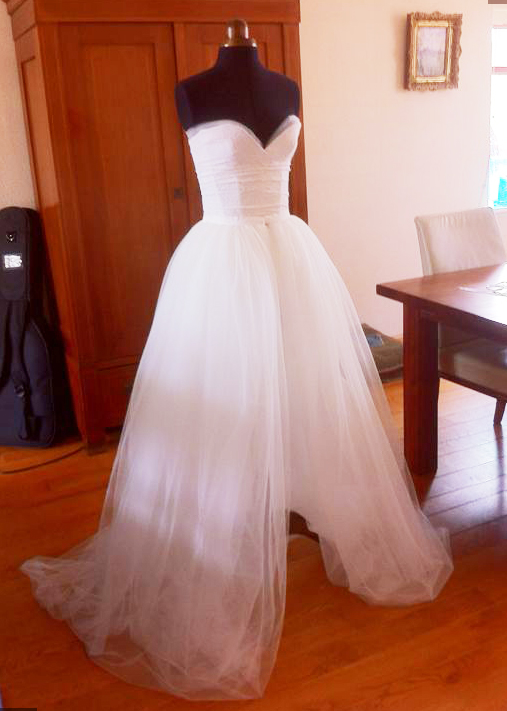 My DIY weddingdress (almost done) Wh