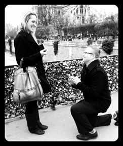 Surprise Paris Proposal