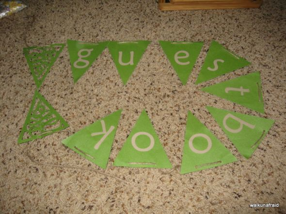 cricut wedding ideas place cards