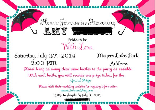 My Best Friends Invitations Carnival Themed