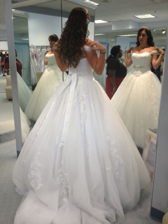 Show me your Alfred Angelo Disney Collection Dresses!!! - Weddingbee