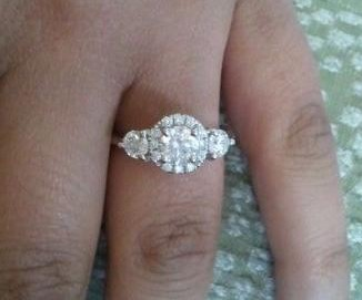engagement jewelry redesign of wedding the redesigned marquise ring afters before white at halo restorations category rhodium diamond box lake gold update forest after product rings