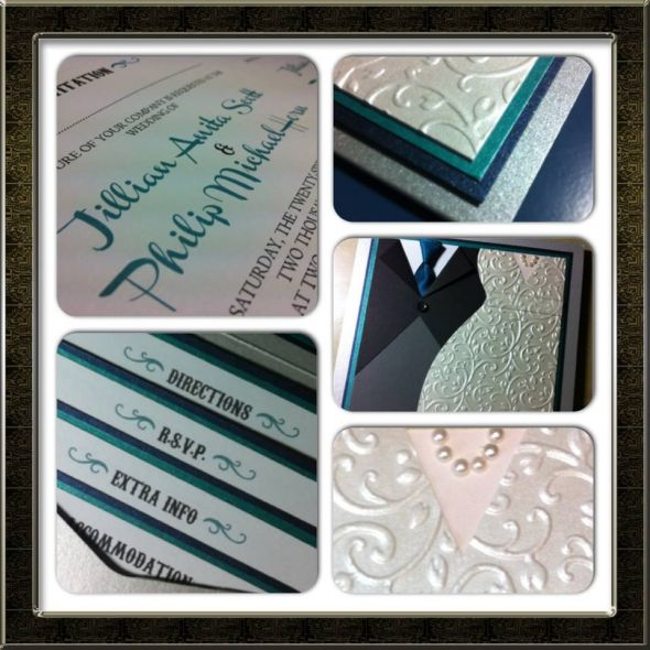 My handmade invitations