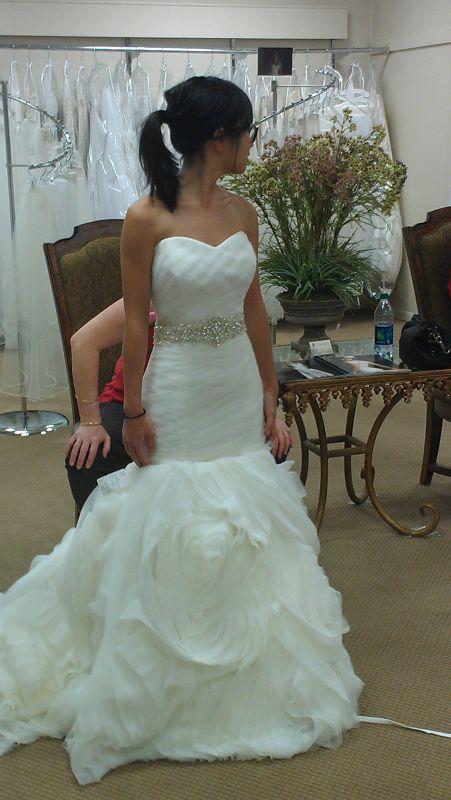 Btwn 2 dresses: maggie sottero Primrose or mori lee 5104??
