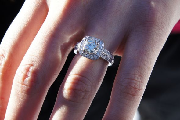 Beautiful Costco Engagement Ring
