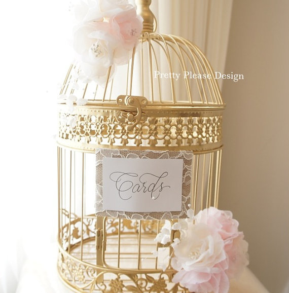 Birdcage Card holder or Cardbox? Show me your card holders!
