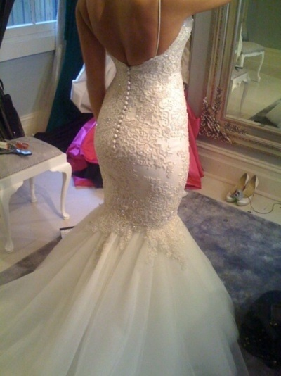 Wedding Dress found on Pinterest. Searching for designer