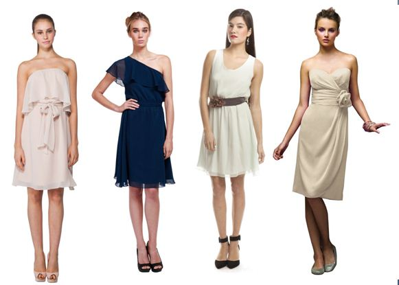 Brideside.me Mix and Match Dresses