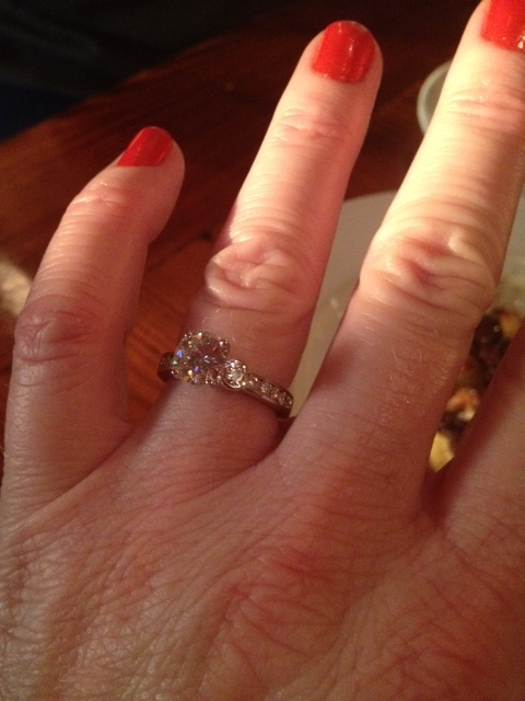 First picture of my beautiful ring