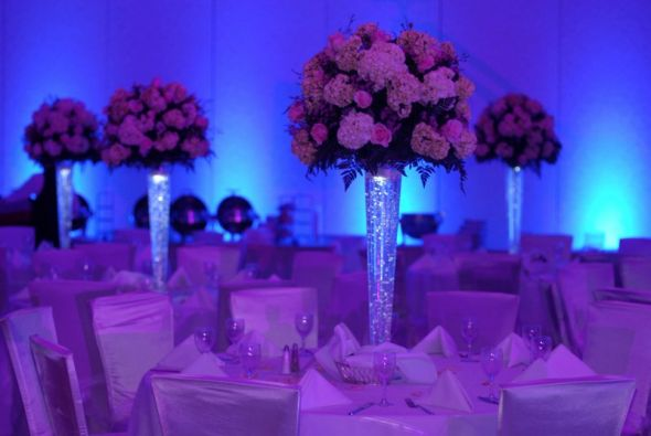 Wedding Centerpiece vases wedding PURPLE TABLES 36231055 Std