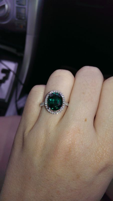 Blue Topaz Engagement Ring Weddingbee