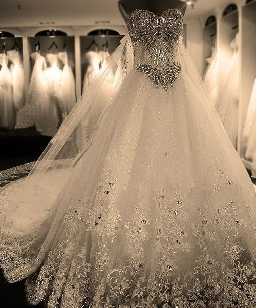Oh, my wedding dress collection!!!