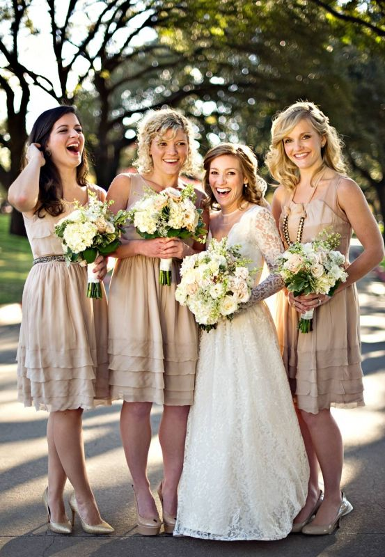 Rustic Chic Bridesmaid Dresses