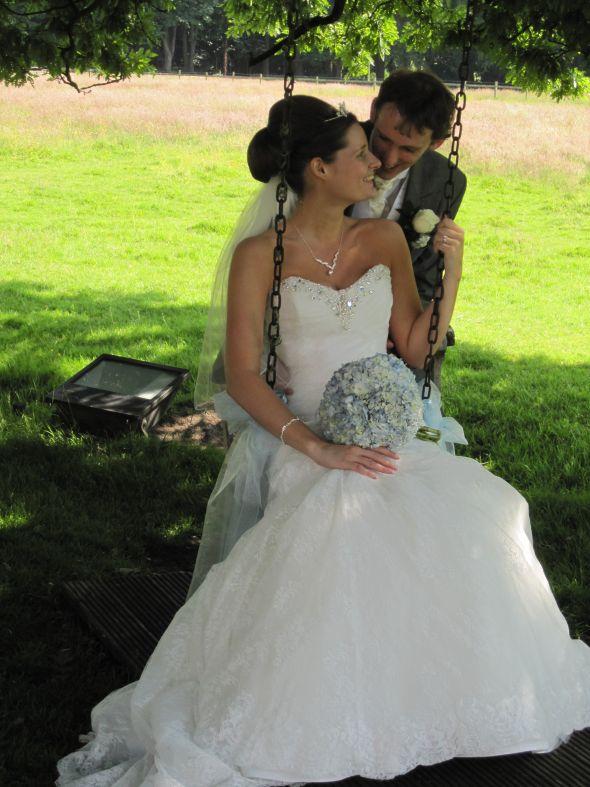 Wedding Day July 2013 in Sophia Tolli Olga Gown