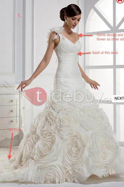 My Rosette Wedding Dress Experience With Jasmines Bridal - Rosette Wedding Dress