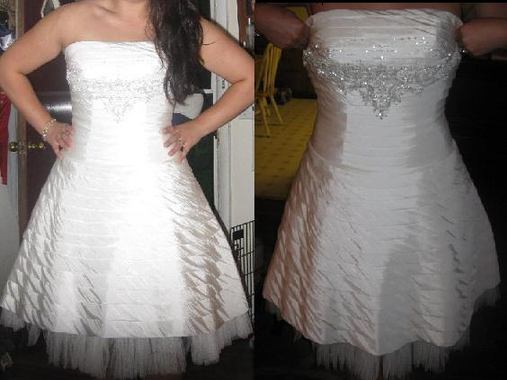 Who 39s wearing a reception dress wedding Reception Dress1